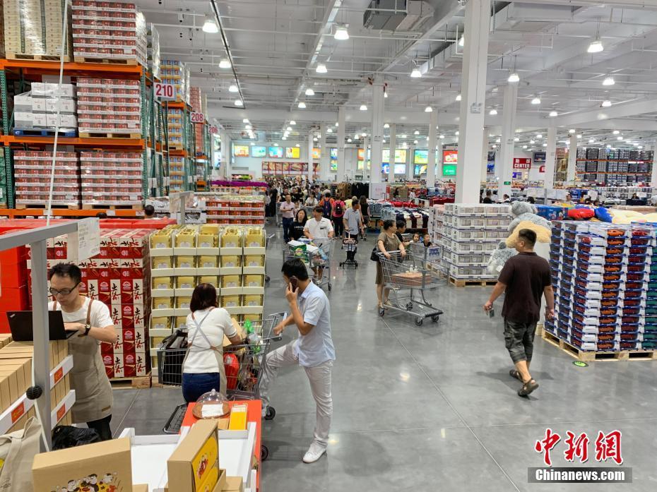 Costco超市中国内地首家门店营业秩序恢复平稳