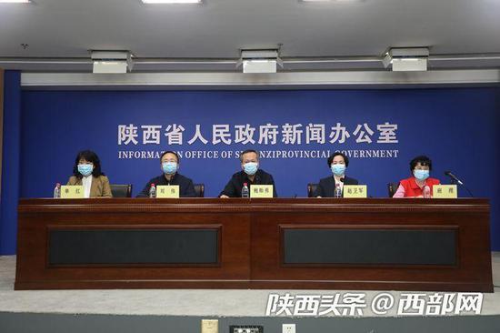陕西省新冠肺炎疫情防控工作情况第二十一场新闻发布会。